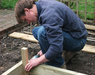 assembly service for raised timber beds