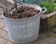 always keep spare compost