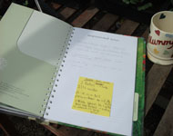 keep a vegetable garden journal